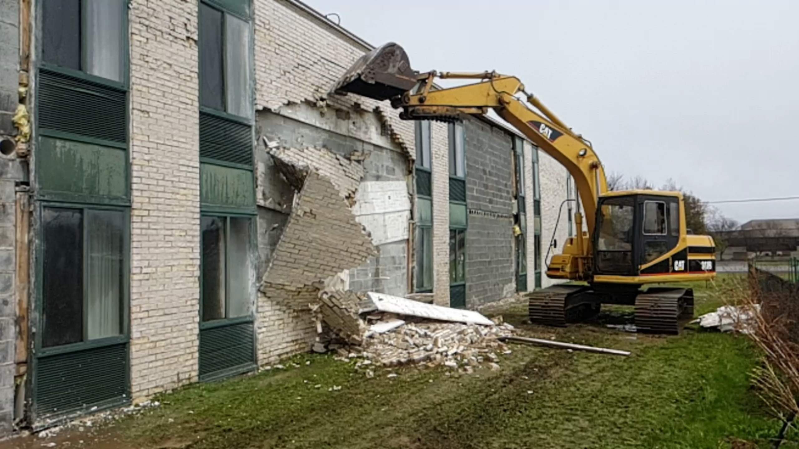 Select Demolition at a Local Hotel