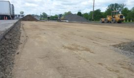 New Parking Lot Subgrade
